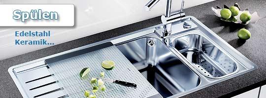Spülen - Küchenline Onlineshop ... alles rund um die Einbauküche | {Spülbecken keramik rund 82}