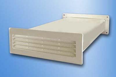 125 System Flachkanal Breitkanal 220x54mm