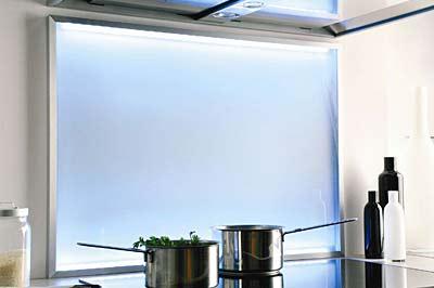 Spritz-und Kochfeldschutz