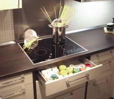 Hitzeschutzboden für Elektro-Kochfelder / Schubladen 60er