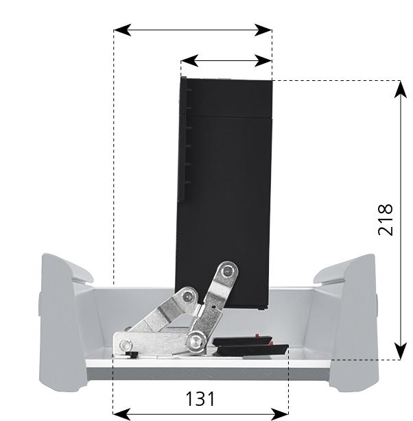 Einbau Toaster Ritter Einbautoaster ET 10 für die Schublade
