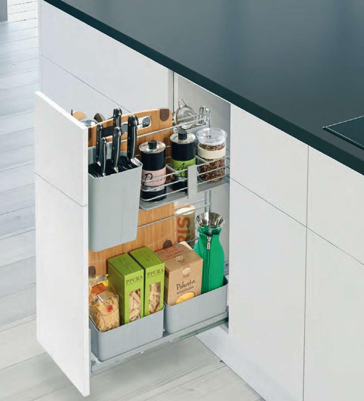 cookingagent voll ausgestattet, tür-anbindung - küchenline