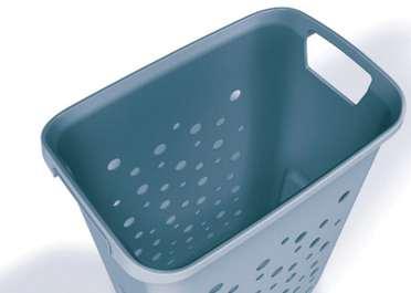 laundrycarrier f r 45er schrank 2 x 33 liter w sc k chenline onlineshop alles rund um die. Black Bedroom Furniture Sets. Home Design Ideas
