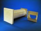 Rund-Mauerkasten mit Flachanschluss.100 System