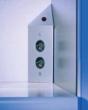 Eck-Energiebox kurz mit schalter ohne Edelstahl
