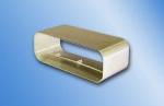 Kanalverbinder für 150 System Flachkanal PowAir 230x80mm