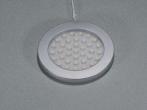 Superflache Universalstrahler Edelstahloptik Leuchte ohne Schaltsensor 3 Watt