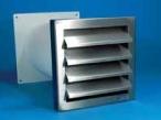 Edelstahl-Mauerkasten mit Flügelklappe 125 mm