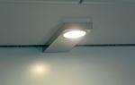 LED Lichtbox Edelstahl 4er Set eingebautem Schalter und Converter