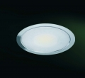 Set mit LED-Flach-Einbaustrahler Warmlicht Edelstahl Set 2er
