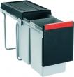 Franke Cube 30 mit vollauszug 20+10 Liter ab 30er