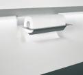 Linero MosaiQ Papierrollenhalter Titan grau