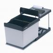 Abfallsammler Wesco Automatic-Boy 3-fach ab 45er Türbreite