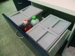 Abfallsystem für vorhandene Auszüge 30er - 180er Breite