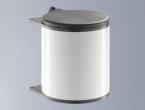 Hailo Big-Box 15 Liter rund weiss.