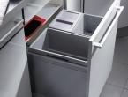 Hailo Tripel XL für 60er Schrank 1x30+2x13 Liter